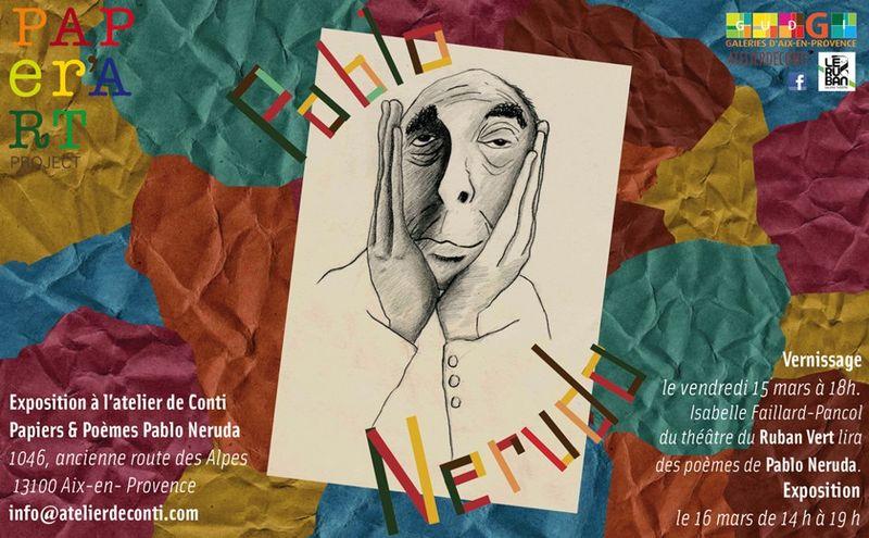 Invitation Atelier Conti + Ruban Vert